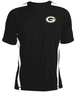 Green Bay Packers NFL Pro Line by Fanatics Branded Gold Victory Colorblock T-Shirt