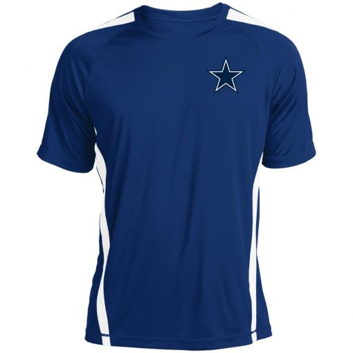 Dallas Cowboys NFL Pro Line by Fanatics Branded Gray Victory Colorblock T-Shirt