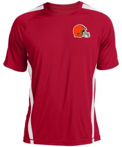 Cleveland Browns NFL Pro Line by Fanatics Branded Brown Victory Colorblock T-Shirt