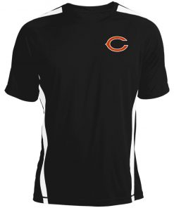 Chicago Bears NFL Pro Line Gray Victory Colorblock T-Shirt