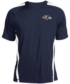 Baltimore Ravens NFL Pro Line by Fanatics Branded Gray Victory Colorblock T-Shirt