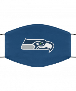 Seattle Seahawks NFL Pro Line Gray Victory FMA Face Mask