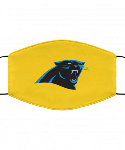 Panthers NFL Pro Line by Fanatics Branded Gray Victory FMA Face Mask