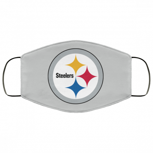 Pittsburgh Steelers NFL Pro Line Gray Victory FMA Face Mask
