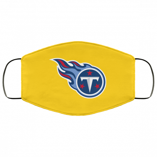 Tennessee Titans NFL Pro Line by Fanatics Branded Light Blue FMA Face Mask