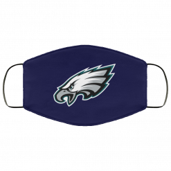 Philadelphia Eagles NFL Pro Line Gray Victory FMA Face Mask