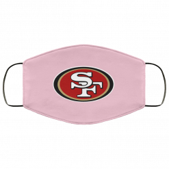 San Francisco 49ers NFL Line Black Team Lockup FMA Face Mask