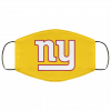 New York Giants NFL Pro Line Gray Victory FMA Face Mask