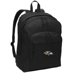 Baltimore Ravens NFL Pro Line by Fanatics Branded Gray Victory Basic Backpack