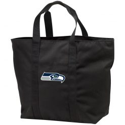 Seattle Seahawks NFL Pro Line Gray Victory Tote Bag