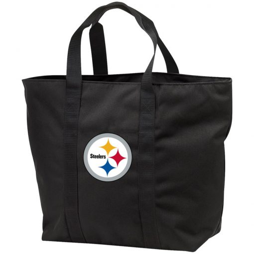 Pittsburgh Steelers NFL Pro Line Gray Victory Tote Bag