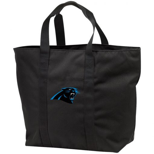 Panthers NFL Pro Line by Fanatics Branded Gray Victory Tote Bag