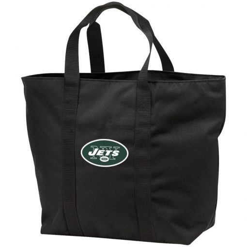 New York Jets NFL Line by Fanatics Branded Vintage Victory Tote Bag