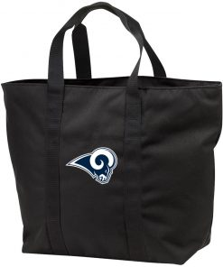 Los Angeles Rams NFL Pro Line by Fanatics Branded Gray Victory Tote Bag