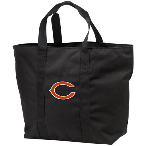 Chicago Bears NFL Pro Line Gray Victory Tote Bag