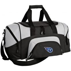 Tennessee Titans NFL Pro Line by Fanatics Branded Light Blue Small Colorblock Sport Duffel Bag