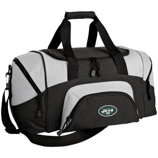New York Jets NFL Line by Fanatics Branded Vintage Victory Small Colorblock Sport Duffel Bag