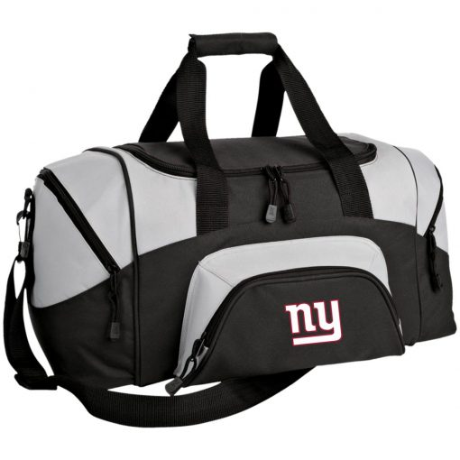 New York Giants NFL Pro Line Gray Victory Small Colorblock Sport Duffel Bag