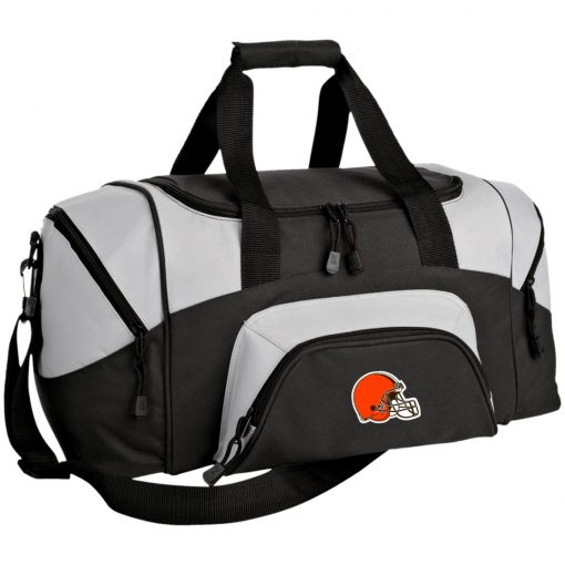Cleveland Browns NFL Pro Line by Fanatics Branded Brown Victory Small Colorblock Sport Duffel Bag