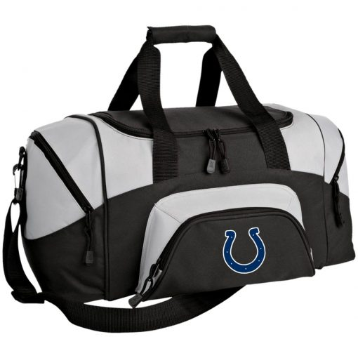 Indianapolis Colts NFL Pro Line Gray Victory Small Colorblock Sport Duffel Bag