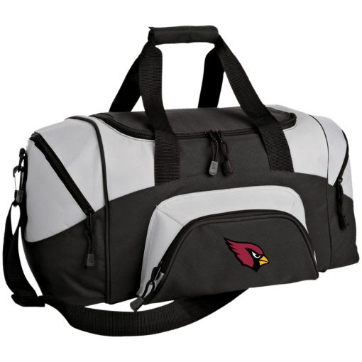 Arizona Cardinals NFL Pro Line by Fanatics Branded Gray Victory Small Colorblock Sport Duffel Bag