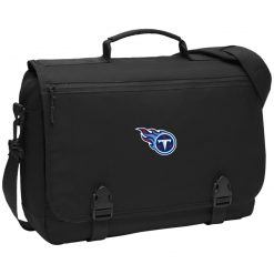 Tennessee Titans NFL Pro Line by Fanatics Branded Light Blue BG304 Messenger Briefcase