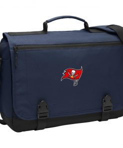 Tampa Bay Buccaneers NFL Pro Line by Fanatics Branded Gray Victory BG304 Messenger Briefcase