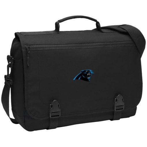 Panthers NFL Pro Line by Fanatics Branded Gray Victory BG304 Messenger Briefcase