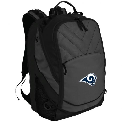 Los Angeles Rams NFL Pro Line by Fanatics Branded Gray Victory Laptop Computer Backpack