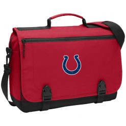 Indianapolis Colts NFL Pro Line Gray Victory BG304 Messenger Briefcase
