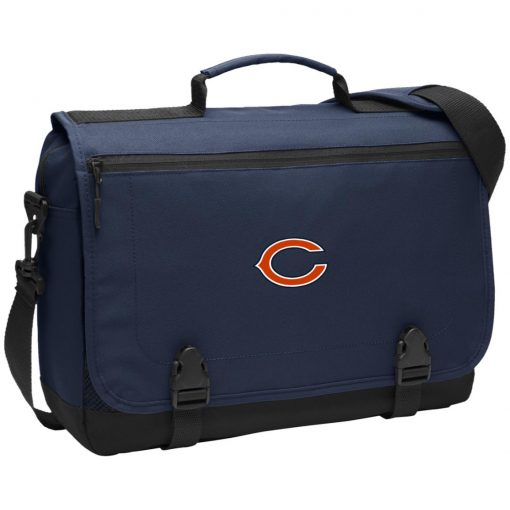 Chicago Bears NFL Pro Line Gray Victory BG304 Messenger Briefcase