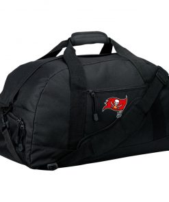 Tampa Bay Buccaneers NFL Pro Line by Fanatics Branded Gray Victory Large-Sized Duffel Bag