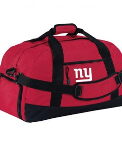 New York Giants NFL Pro Line Gray Victory Large-Sized Duffel Bag