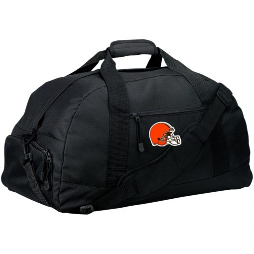 Cleveland Browns NFL Pro Line by Fanatics Branded Brown Victory Large-Sized Duffel Bag
