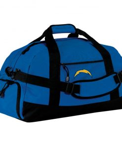 Los Angeles Chargers NFL Pro Line by Fanatics Branded Gray Victory Arch Large-Sized Duffel Bag