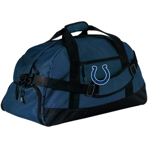 Indianapolis Colts NFL Pro Line Gray Victory Large-Sized Duffel Bag