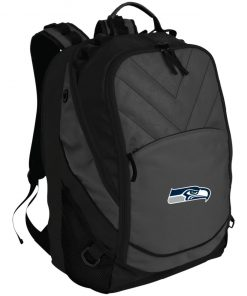 Seattle Seahawks NFL Pro Line Gray Victory Laptop Computer Backpack