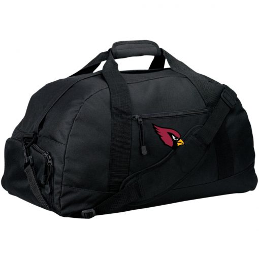 Arizona Cardinals NFL Pro Line by Fanatics Branded Gray Victory Large-Sized Duffel Bag