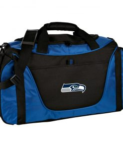 Seattle Seahawks NFL Pro Line Gray Victory Medium Color Block Gear Bag