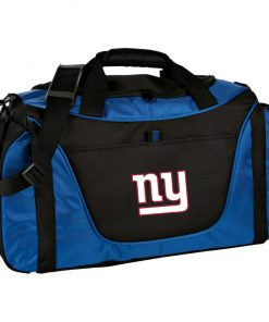 New York Giants NFL Pro Line Gray Victory Medium Color Block Gear Bag