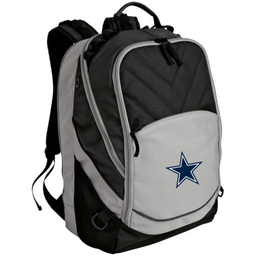 Dallas Cowboys NFL Pro Line by Fanatics Branded Gray Victory Laptop Computer Backpack
