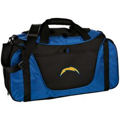 Los Angeles Chargers NFL Pro Line by Fanatics Branded Gray Victory Arch Medium Color Block Gear Bag