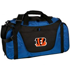 Cincinnati Bengals NFL Line Gray Victory Medium Color Block Gear Bag