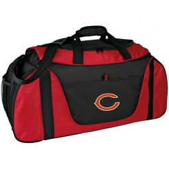 Chicago Bears NFL Pro Line Gray Victory Medium Color Block Gear Bag