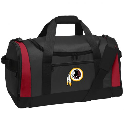Washington Redskins NFL Pro Line by Fanatics Branded Gray Victory Travel Sports Duffel