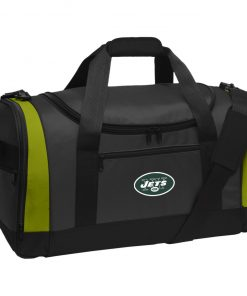 New York Jets NFL Line by Fanatics Branded Vintage Victory Travel Sports Duffel