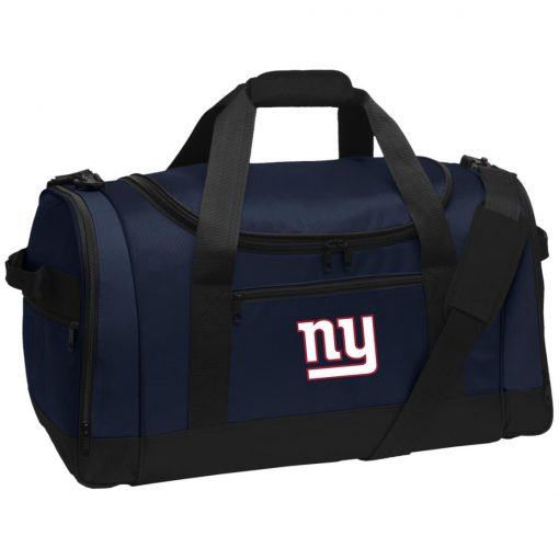 New York Giants NFL Pro Line Gray Victory Travel Sports Duffel