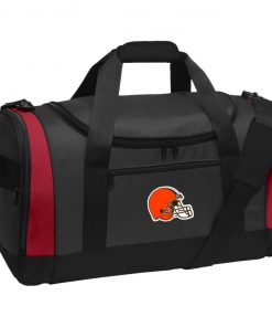 Cleveland Browns NFL Pro Line by Fanatics Branded Brown Victory Travel Sports Duffel