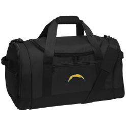 Los Angeles Chargers NFL Pro Line by Fanatics Branded Gray Victory Arch Travel Sports Duffel