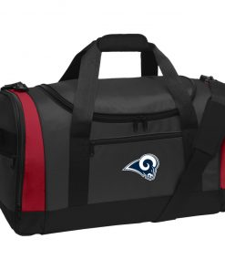 Los Angeles Rams NFL Pro Line by Fanatics Branded Gray Victory Travel Sports Duffel